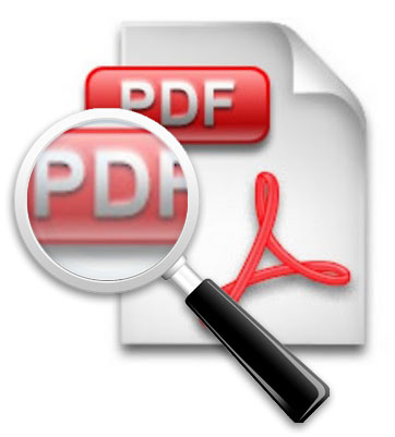Searchable Interactive PDF
