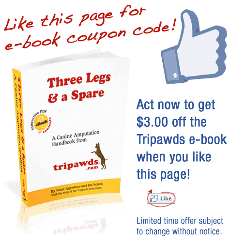 Like Tripawds Ebook for Coupon Code