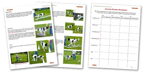 Sample Pages from Tripawds Canine Rehab E-book
