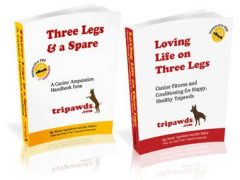 Tripawds information books