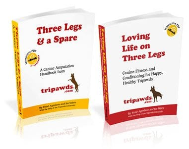 Tripawds information books
