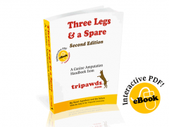Three Legs and a Spare Dog Amputation E-book