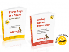 Tripawds Three Legged Dog E-books