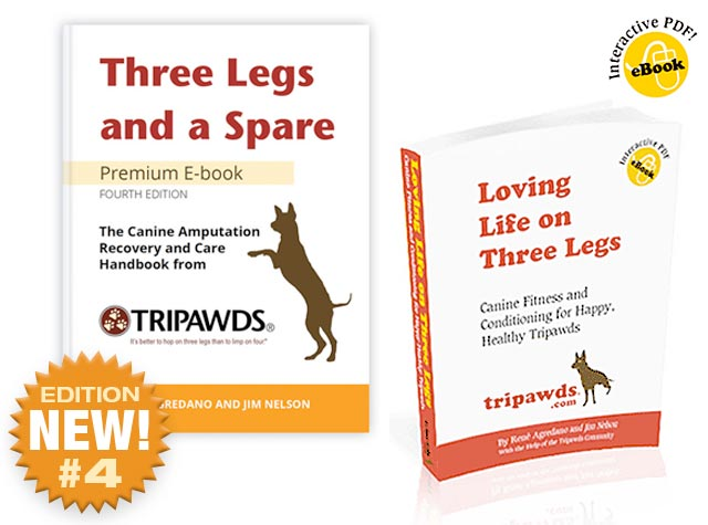 tripawds dog amputation book